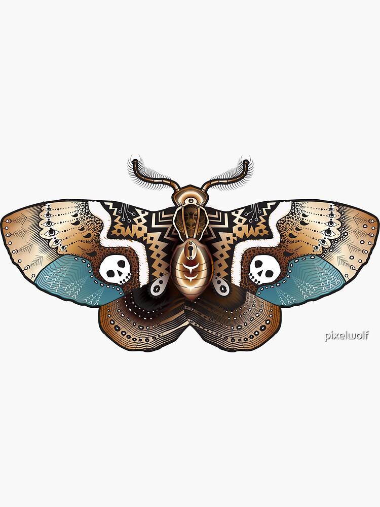 Clockwork Moth by pixelwolf