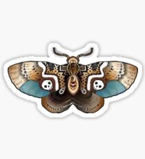 Clockwork Moth Sticker