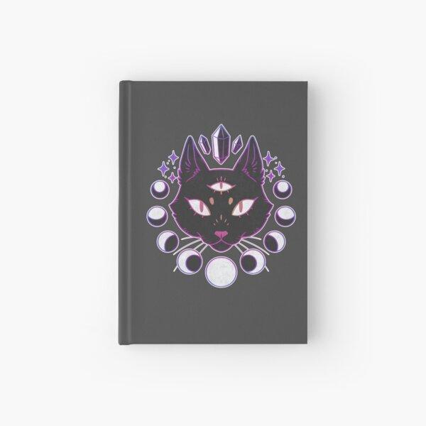 Lunar Cat Hardcover Journal