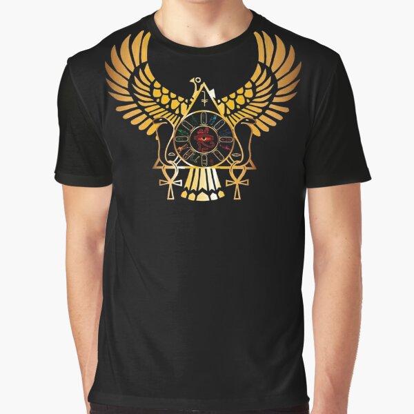 Golden Egypt Graphic T-Shirt