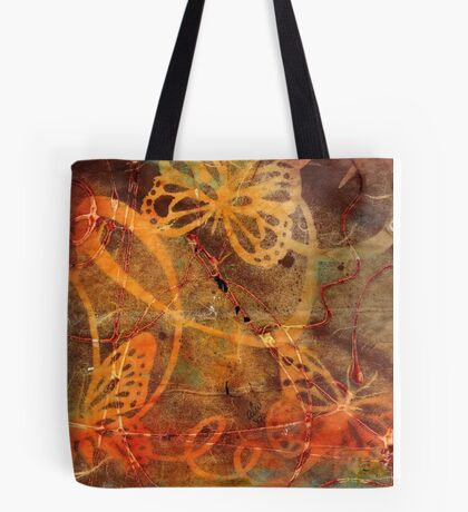 Butterfly Sun Dance Tote Bag
