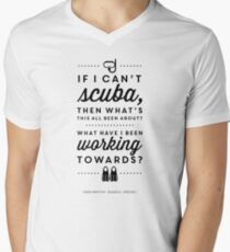 The Office - Creed Bratton If I Can't Scuba Men's V-Neck T-Shirt