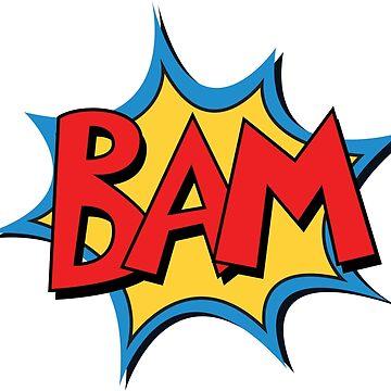COMIC BOOK: BAM! by MDRMDRMDR