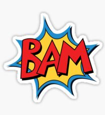 COMIC BOOK: BAM! Sticker