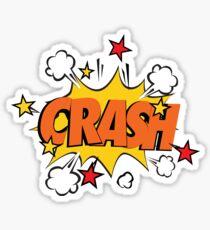 COMIC BOOK: CRASH! Sticker