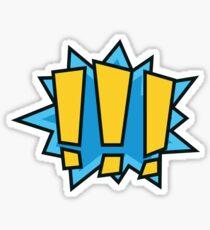 COMIC BOOK: !!! Sticker