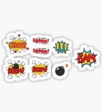 COMIC BOOK STICKERS Sticker