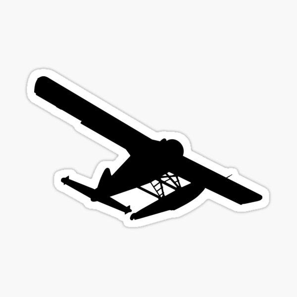 deHavilland DHC-2 Beaver silhouette Sticker