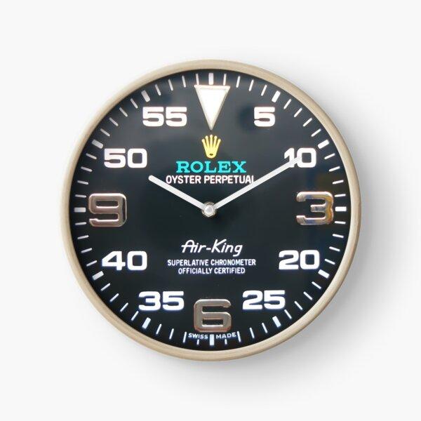 Black Dial Marked Symbol Perpetual AIR-KING Clock