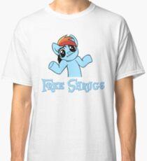 Rainbow Dash: Free Shrugs Classic T-Shirt