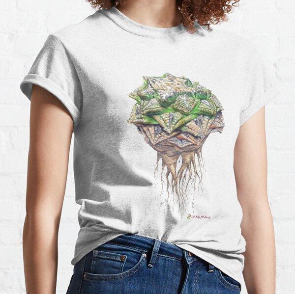 Minimal Ariocarpus fissuratus Classic T-Shirt