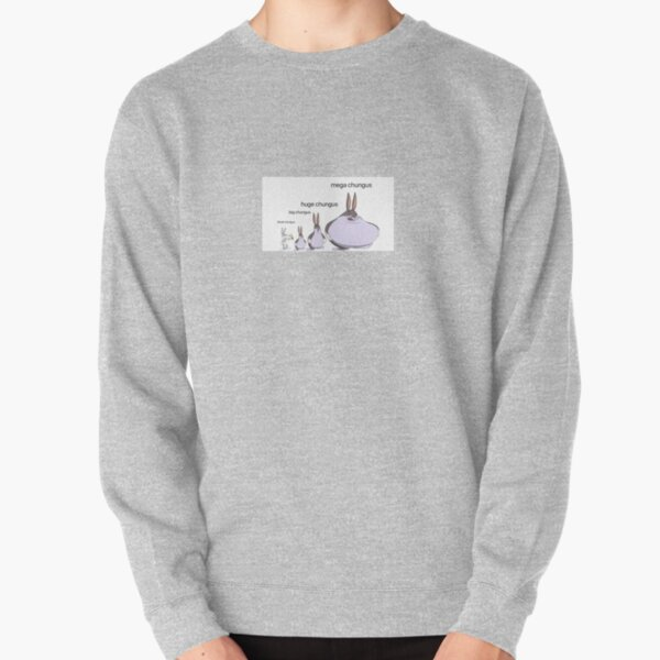 big chungus evolution  Pullover Sweatshirt