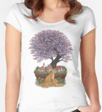 Bonsai Village Women's Fitted Scoop T-Shirt