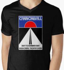 Cannonball Run Men's V-Neck T-Shirt