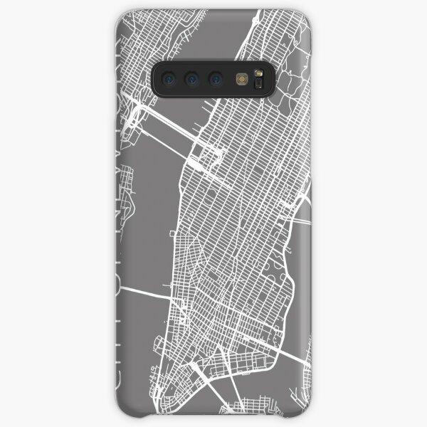 Kopie der Stadtkarte von New York Samsung Galaxy Leichte Hülle