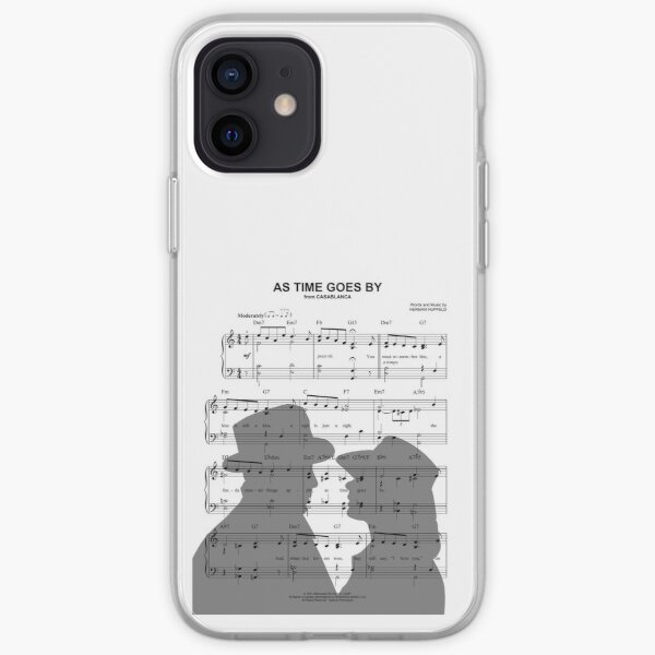 As Time Goes By iPhone Soft Case