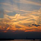 Sky over Manhattan by Magaly Burton