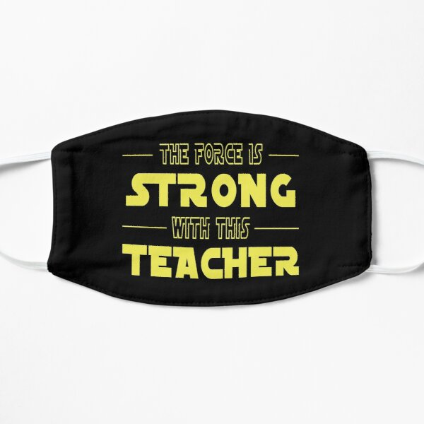 The Force Is Strong With This Teacher Mask