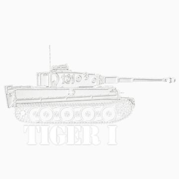 TIGER I Tank by twolanetommy