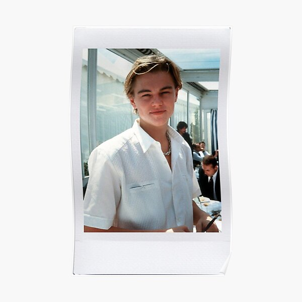 Polaroid de Leonardo DiCaprio Póster