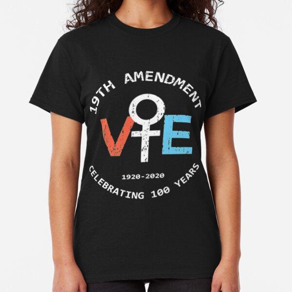 19Th Amendment Vote Celebrating 100 years Classic T-Shirt