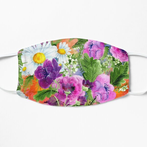 Blooming Heart Flat Mask