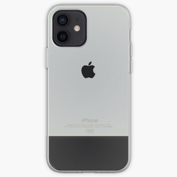 Diseño de iPhone de primera generación de Apple Funda blanda para iPhone