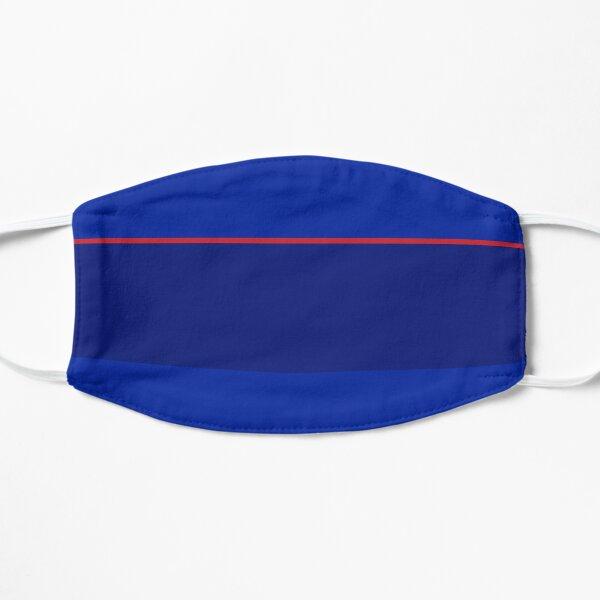 Glasgow Rangers Blue & Red Retro 1998 Wohndesign Flache Maske