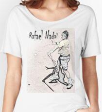 Forehand stroke (Rafael Nadal) Women's Relaxed Fit T-Shirt