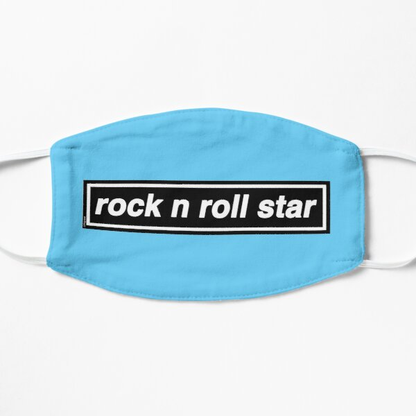 Rock n Roll Star - OASIS Band Tribute [Baby Blue] MADE IN THE 90s Small Mask