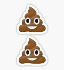 Emoji Poo Sticker