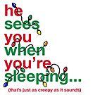 Creepy Santa by fishbiscuit