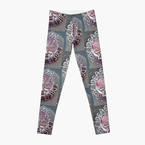 PUNK SKULL IDEAS GROW DREAMS Leggings