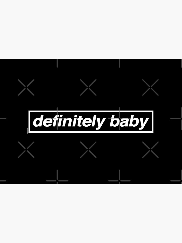 Definitely Baby [THE ORIGINAL & BEST!] - OASIS Band Tribute [Black] MADE IN THE 90s by phigment-art