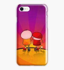 Lovely Couple iPhone Case/Skin