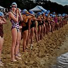 Balmoral Ocean Swim - Anticipation by Ian English