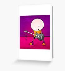 Rockstar Boy Greeting Card
