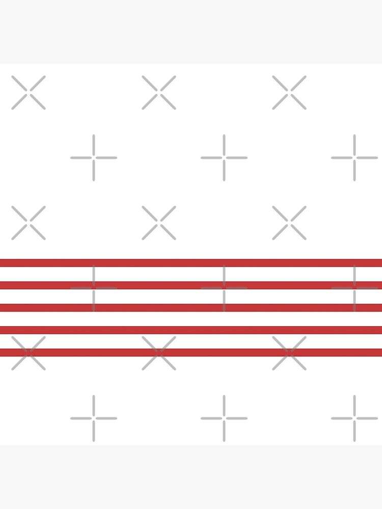 Trendy White and Red Stripes Design by EveStock