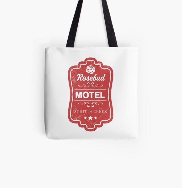 Rosebud Motel Sign from Schitts Creek All Over Print Tote Bag