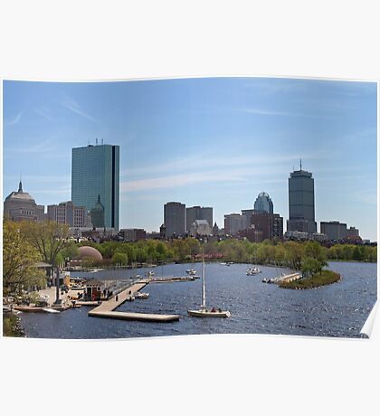 Boston & The Charles River Poster