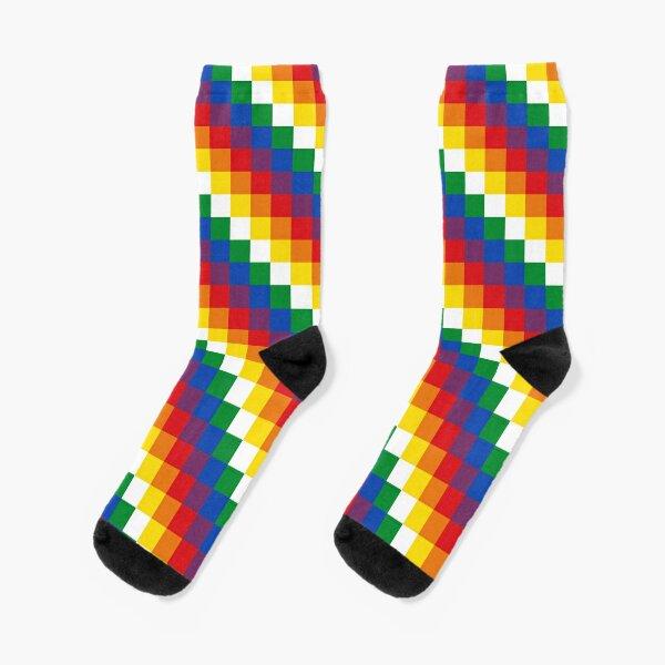 Wiphala Socks