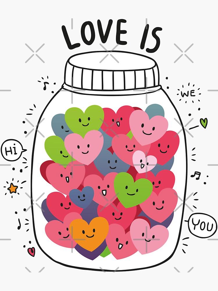 Liebe ist Bunt von brainbubbles