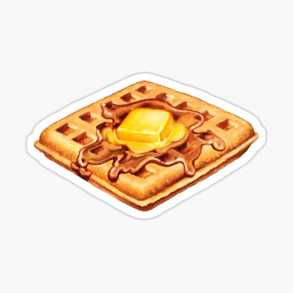 Waffle Pattern Sticker