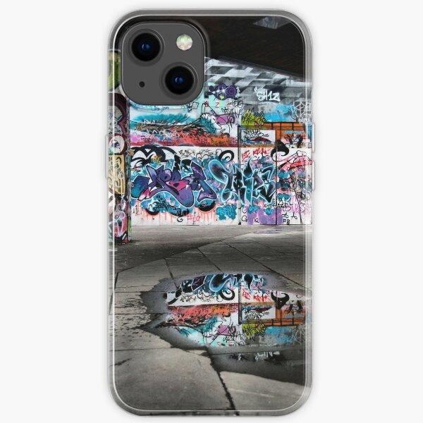 London Southbank Skate Graffiti iPhone Soft Case