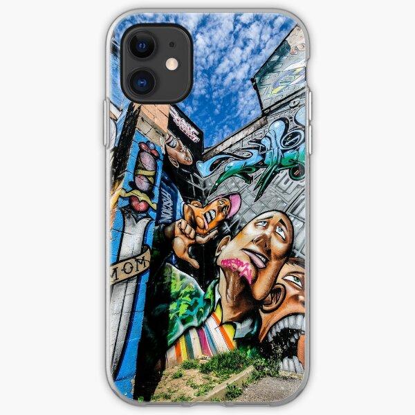 Graffiti Brighton 3 iPhone Soft Case