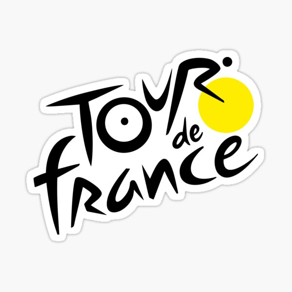 Meilleur vendeur - Nouveau logo du Tour de France Sticker