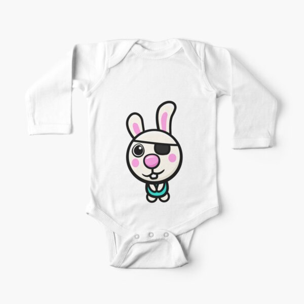 Piggy Roblox Long Sleeve Baby One Piece Redbubble