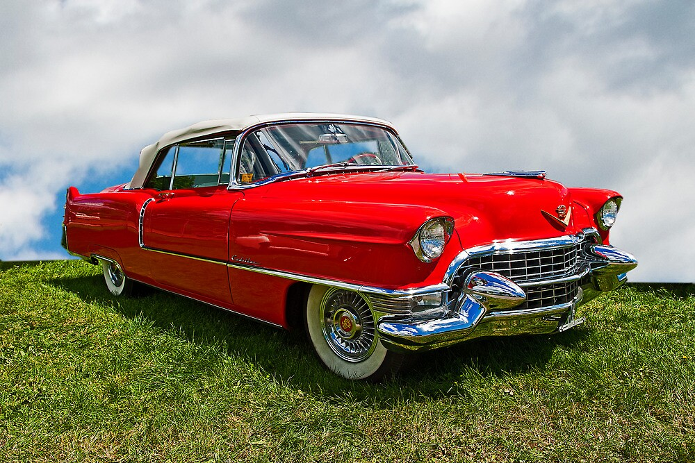 1955 Cadillac Convertible by Bryan D. Spellman