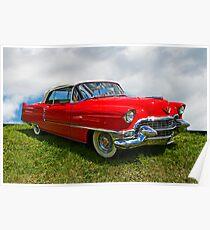 1955 Cadillac Convertible Poster