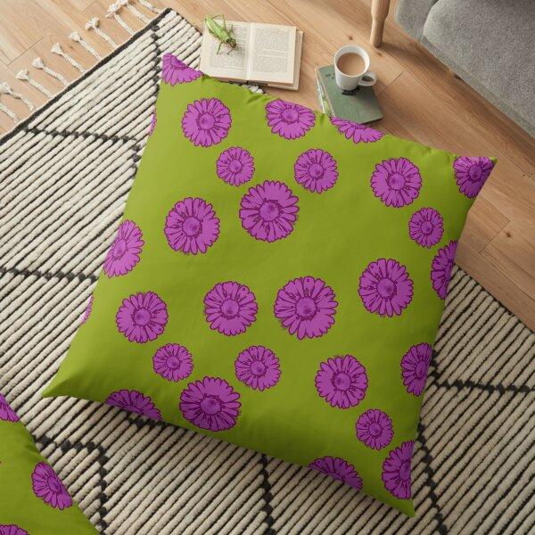 Funky Daisies Floor Pillow